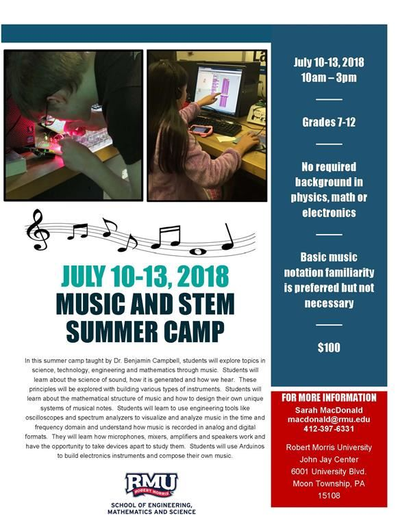 2018 Music & STEM Camp